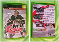 Buy XBOX NHL 2K6 VIDEO GAME DISC ORIGINAL CASE AND BOOK LOW BID