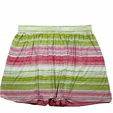 Buy Lane Bryant A Line Skirt Size 22/24 Striped Red Green White Pull On Trumpet