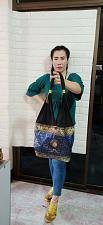 Buy LOt 4 Bag Elephant Clothes Shoulder Bag Scarlet Thai HANDMADE Variant color