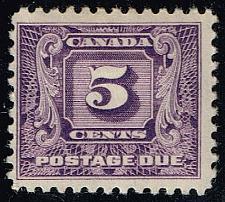 Buy Canada #J9 Postage Due; Unused (3Stars) |CANJ09-01XRP