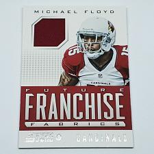 Buy NFL MICHAEL FLOYD ARIZONA CARDINALS 2013 PANINI ROOKIE GAME WORN JERSEY MINT
