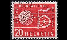 Buy SCHWEIZ SWITZERLAND [BIT/ILO] MiNr 0096 ( O/used )