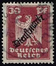Buy Germany #O57 Official - Eagle; Used (4Stars) |DEUO057-02XRS
