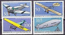 Buy GERMANY BUND [1991] MiNr 1522-25 ( **/mnh ) Flugzeug