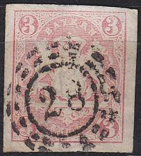 Buy GERMANY Bayern Bavaria [1867] MiNr 0015 ( O/used ) [06]