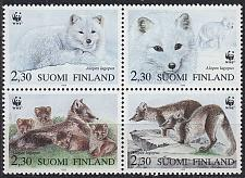 Buy FINLAND SOUMI [1993] MiNr 1202-05 4er ( **/mnh ) Tiere