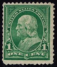 Buy US #279 Benjamin Franklin; Unused (9.00) (1Stars) |USA0279-03