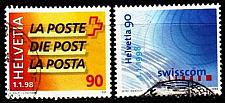 Buy SCHWEIZ SWITZERLAND [1998] MiNr 1637-38 ( O/used )
