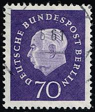 Buy Germany #9N169 Pres. Theodor Huess; Used (4Stars) |DEU9N169-01XRP