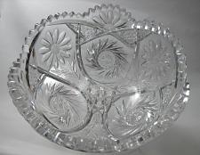 Buy American Brilliant Period hand Cut Glass bowl ABP antique Anderson?