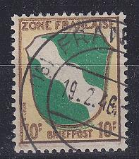 Buy GERMANY Alliiert Franz. Zone [Allgemein] MiNr 0005 ( O/used ) [01]
