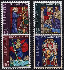 Buy SCHWEIZ SWITZERLAND [1969] MiNr 0902-05 ( O/used ) Pro Patria