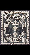 Buy GERMANY REICH Danzig [Dienst] MiNr 0022 ( OO/used )