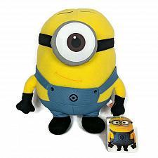 "Buy NWT Despicable Me Stuart Minion Toy Factory Plush Stuffed Animal 2014 9.5"""