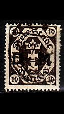 Buy GERMANY REICH Danzig [Dienst] MiNr 0002 ( OO/used )