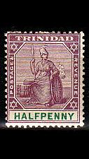 Buy TRINIDAD TOBAGO [1896] MiNr 0037 ( */mh )