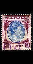 Buy SINGAPUR SINGAPORE [1948] MiNr 0018 A ( O/used )