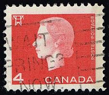 Buy Canada #404 Queen Elizabeth II and Electric Tower; Used (3Stars) |CAN0404-14