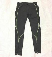 Buy FILA Women's Sport Lime Green Lined Gray Charcoal Running Leggings Size M