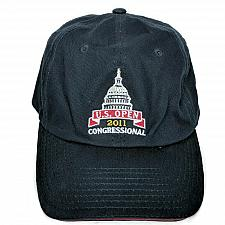 Buy US Open 2011 Congressional Mens Golf Blue Strapback Hat Cap USGA