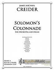 Buy Creider - Solomons Colonnade for Orchestra