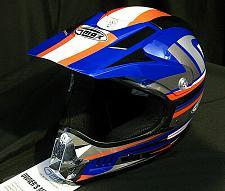 Buy Helmet Motorcross Adult XS Blue/Red/White Dirt Bike Quadrunner Off Road GMax