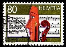 Buy SCHWEIZ SWITZERLAND [1986] MiNr 1329 ( O/used ) Musik