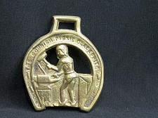 Buy RARE Cornish Pixie Piskie Blacksmith Horse Brass Harness
