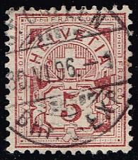 Buy Switzerland #71 Numeral; Used (0.80) (2Stars) |SWI0071-06XRS