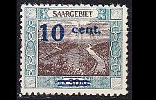 Buy GERMANY Saar [1921] MiNr 0072 II ( **/mnh ) [01]