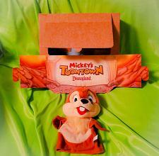 Buy Vtg Kodak Mattel Puppet Theater Mickey's Toontown Disneyland Chip Puppet 1993