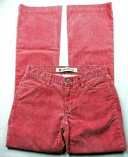 Buy GAP Women's Long And Lean Corduroy Boot Cut Pants Size 1R Solid Red Stretch