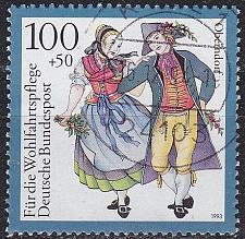 Buy GERMANY BUND [1993] MiNr 1699 ( O/used ) Trachten