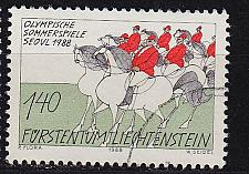 Buy LIECHTENSTEIN [1988] MiNr 0950 ( O/used ) Olympiade