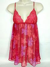 Buy Victoria's Secret Women's Babydoll Medium Very Sexy Nightie Floral Pink