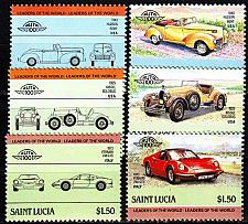 Buy ST. LUCIA [1985] MiNr 0740-47 ( **/mnh ) Autos