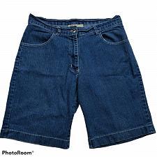 Buy Gold Flava Womens Jean Shorts Size 14 Denim Blue Dark Wash