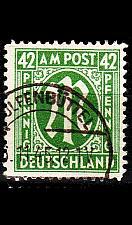 Buy GERMANY Alliiert AmBri [1945] MiNr 0031 A ( O/used )