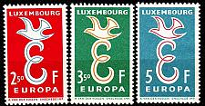 Buy LUXEMBURG LUXEMBOURG [1958] MiNr 0590-92 ( **/mnh ) CEPT