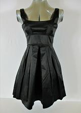Buy NECESSARY OBJECTS womens XS sleeveless black EMPIRE WAIST fully lined dress (C4)