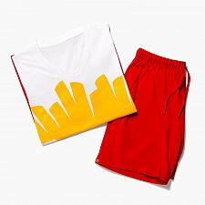 Buy New McDonald World Famous Fries Lounge Set kids S, M, L, XL, 2XL, 3XL Free Ship