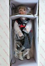 Buy SANDY by James P. Smith Jr The Hamilton Collection porcelain doll NEW IN BOX