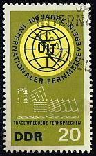 Buy Germany DDR #771 ITU Centenary; CTO (0.25) (1Stars) |DDR0771-03