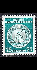 Buy GERMANY DDR [Dienst A] MiNr 0023 I ( **/mnh )