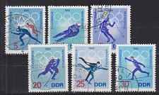 Buy GERMANY DDR [1968] MiNr 1335-40 ( OO/used ) Olympiade