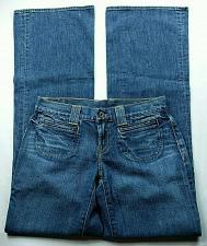 Buy Lucky Brand Women Sant Tropez Flare Jeans Size 0 Button Flap Pocket Stretch