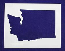 """Buy State of Washington Stencil 14 Mil 8"""" X 10"""" Painting /Crafts/ Templates"""