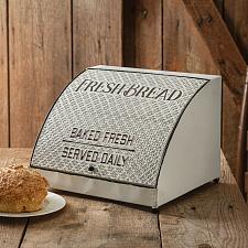 Buy Farmhouse Kitchen Counter Bread Box Bin Storage Country Vintage Style Decor New