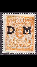 Buy GERMANY REICH Danzig [Dienst] MiNr 0038 ( **/mnh )
