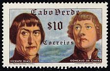 Buy Cape Verde #278 Vicente Dias and Goncalo de Cintra; Unused (2Stars) |CPV0278-05XRS